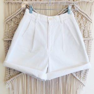 Polo Ralph Lauren High Waisted Mom Shorts 4/ 24